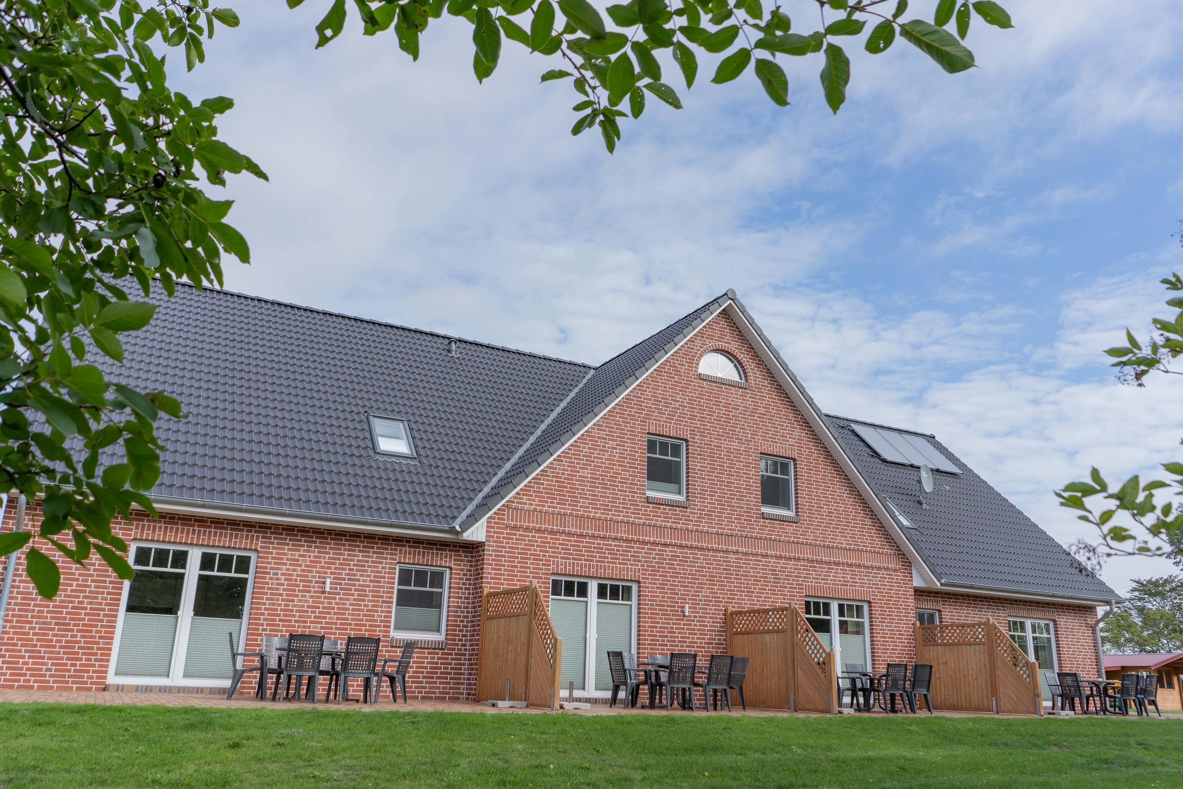 Bauernhof Kleingarn-Landhus Reihenhaus Nr. 24 Ferienhaus