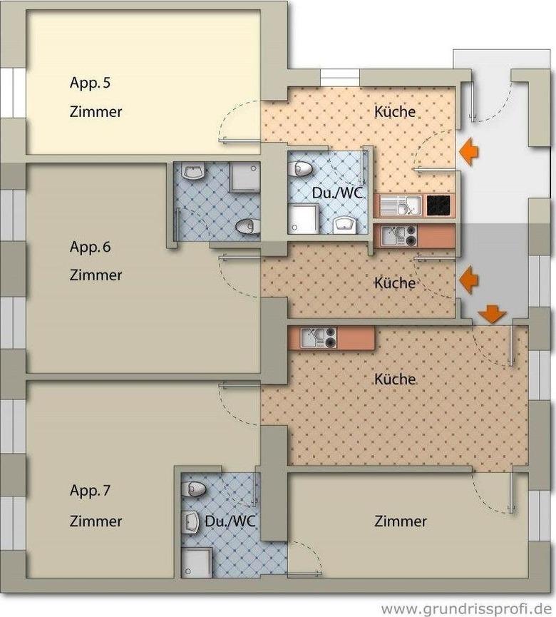 Appartement de vacances Appartements Ferchergasse Ap5 (1854299), Vienne, , Vienne, Autriche, image 22