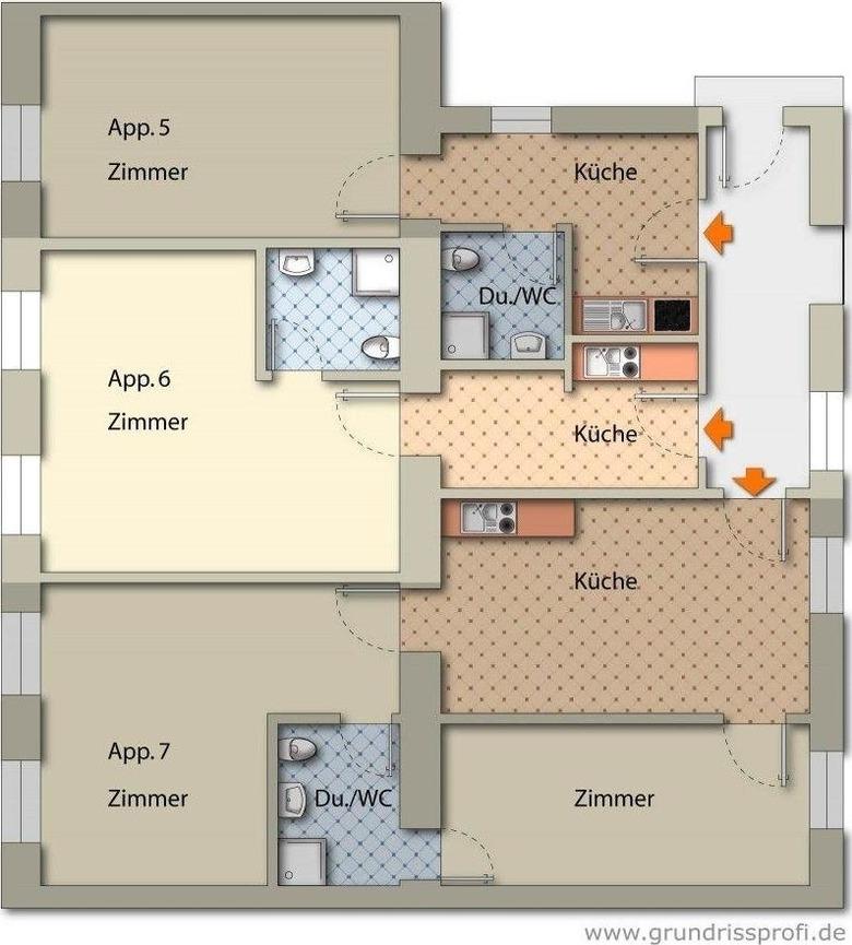Appartement de vacances Appartements Ferchergasse Ap6 (1854300), Vienne, , Vienne, Autriche, image 21