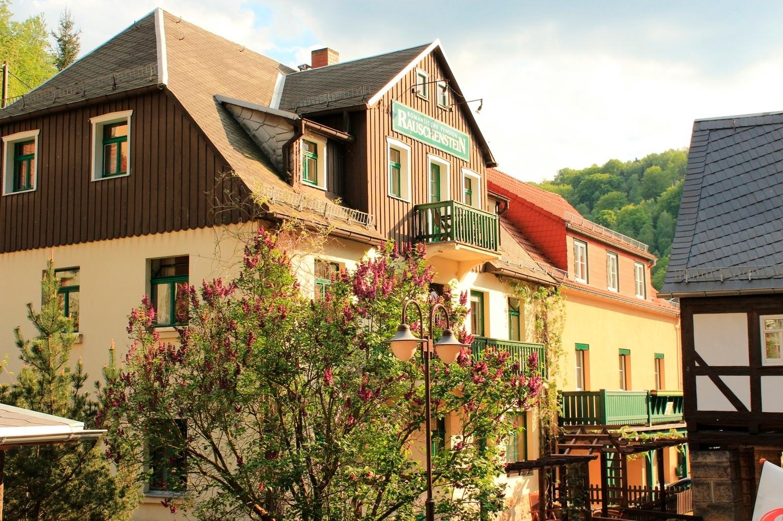 Pension Rauschenstein Ferienwohnung in Bad Schandau