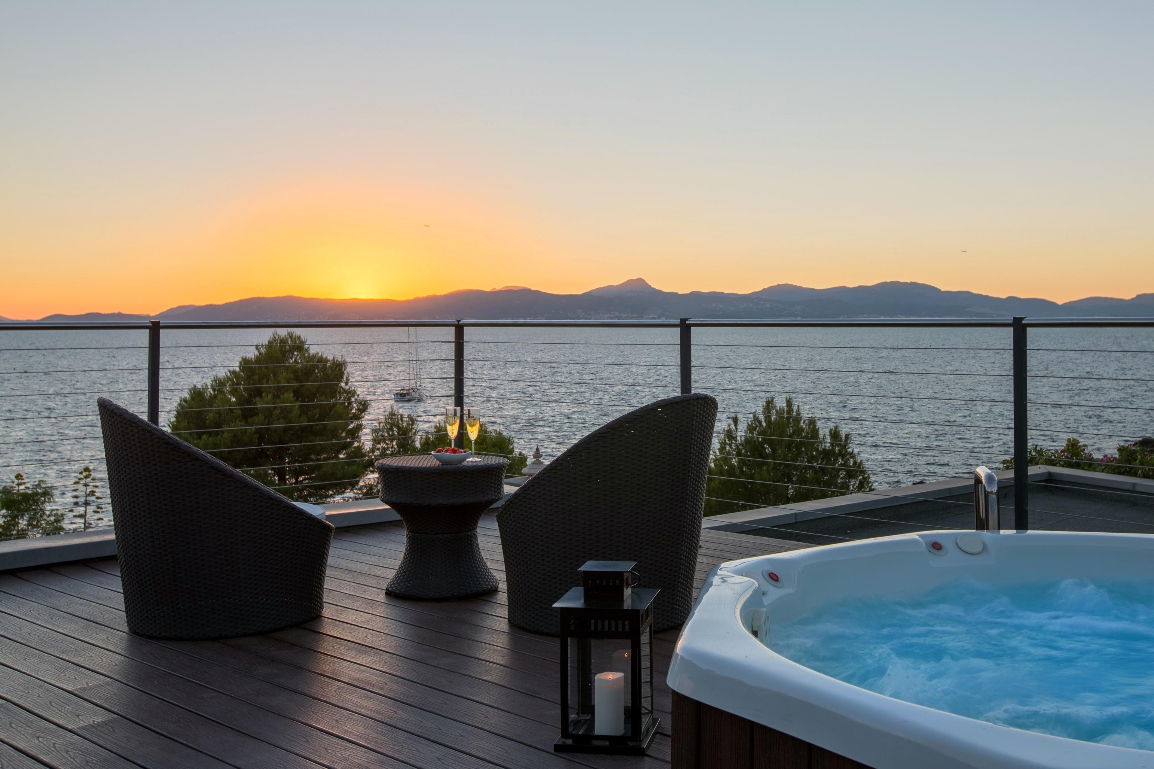 Casa Pura Luxuriöses Ferienhaus mit Meerblick