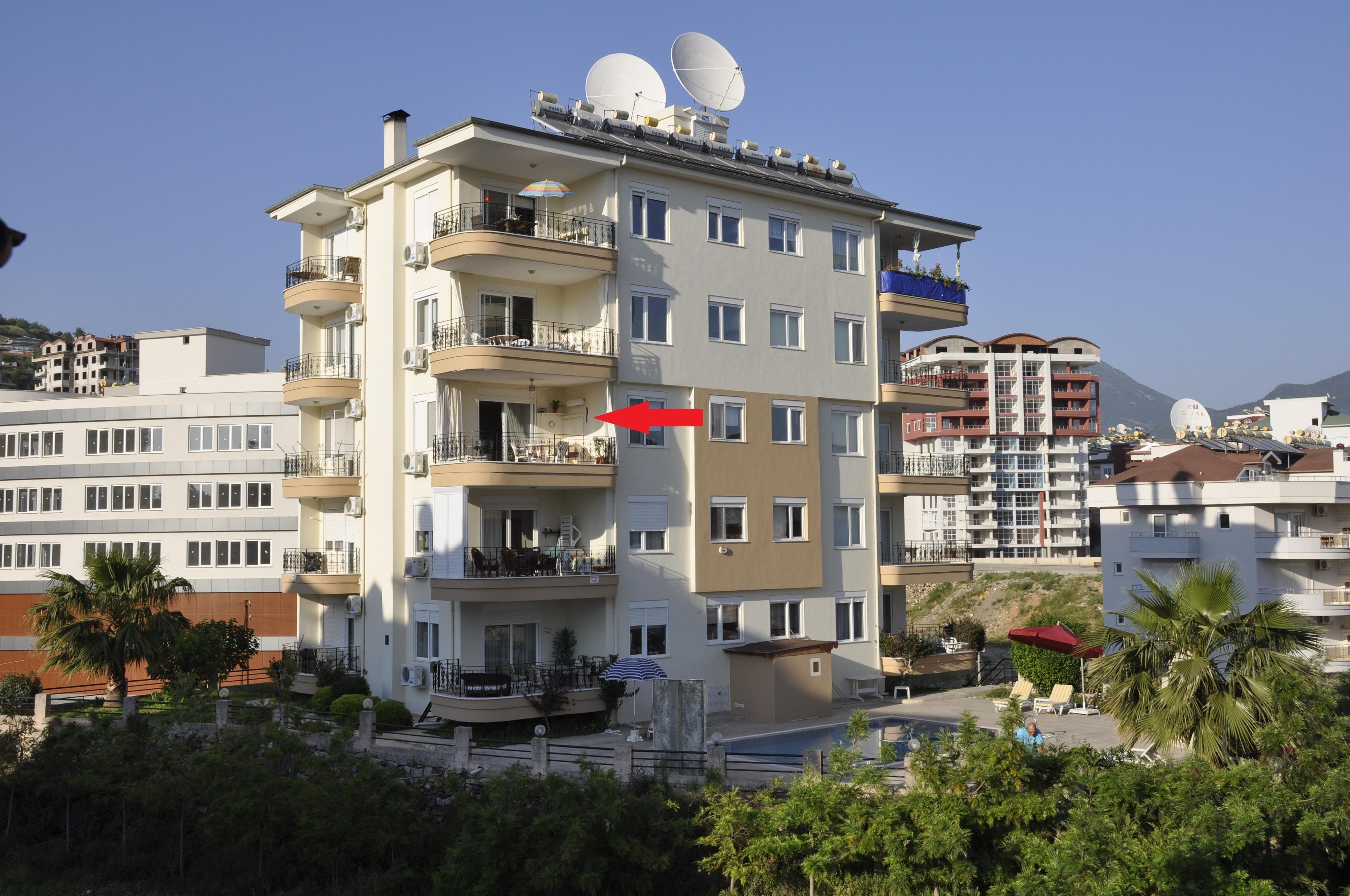 Al Con 9 Residence Alanya Cikcilli Ferienwohnung  Türkische Riviera