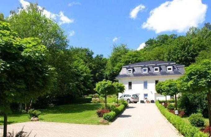 Weißes Haus am Kurpark, Fewo Gartenblick