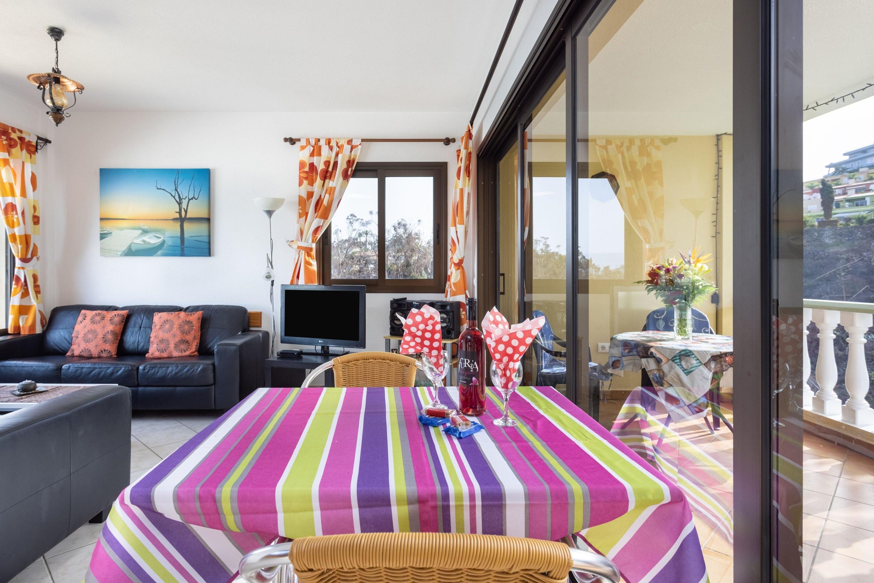 Appartement de vacances Fewo Atico Marazul, mit  Panorama- und Meerblick, Pool, Terrasse, Grill, Parkplatz und WLA (2492979), Santa Ursula, Ténérife, Iles Canaries, Espagne, image 3
