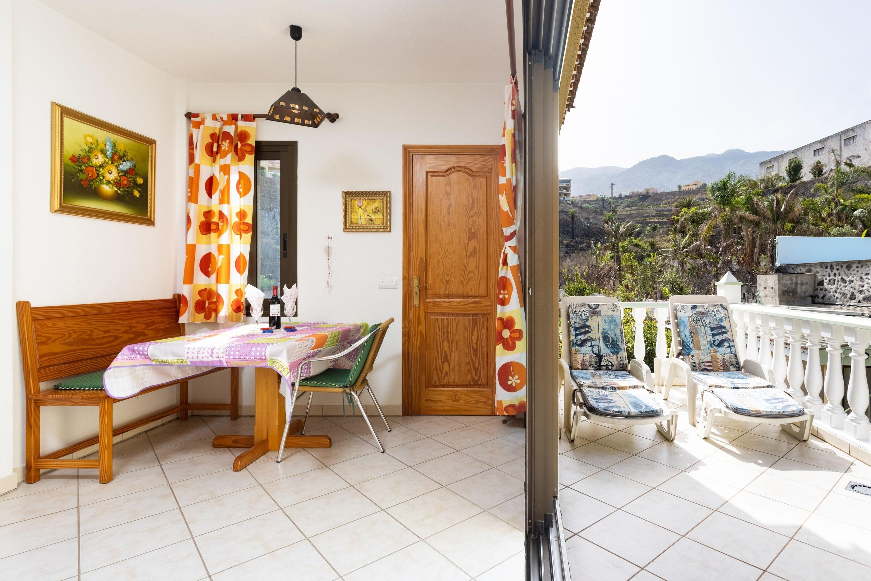 Appartement de vacances Fewo Atico Florasol, sehr ruhig direkt am Naturschutzgebiet, mit Pool, 2 Terrassen, Grill, (2492983), Santa Ursula, Ténérife, Iles Canaries, Espagne, image 5