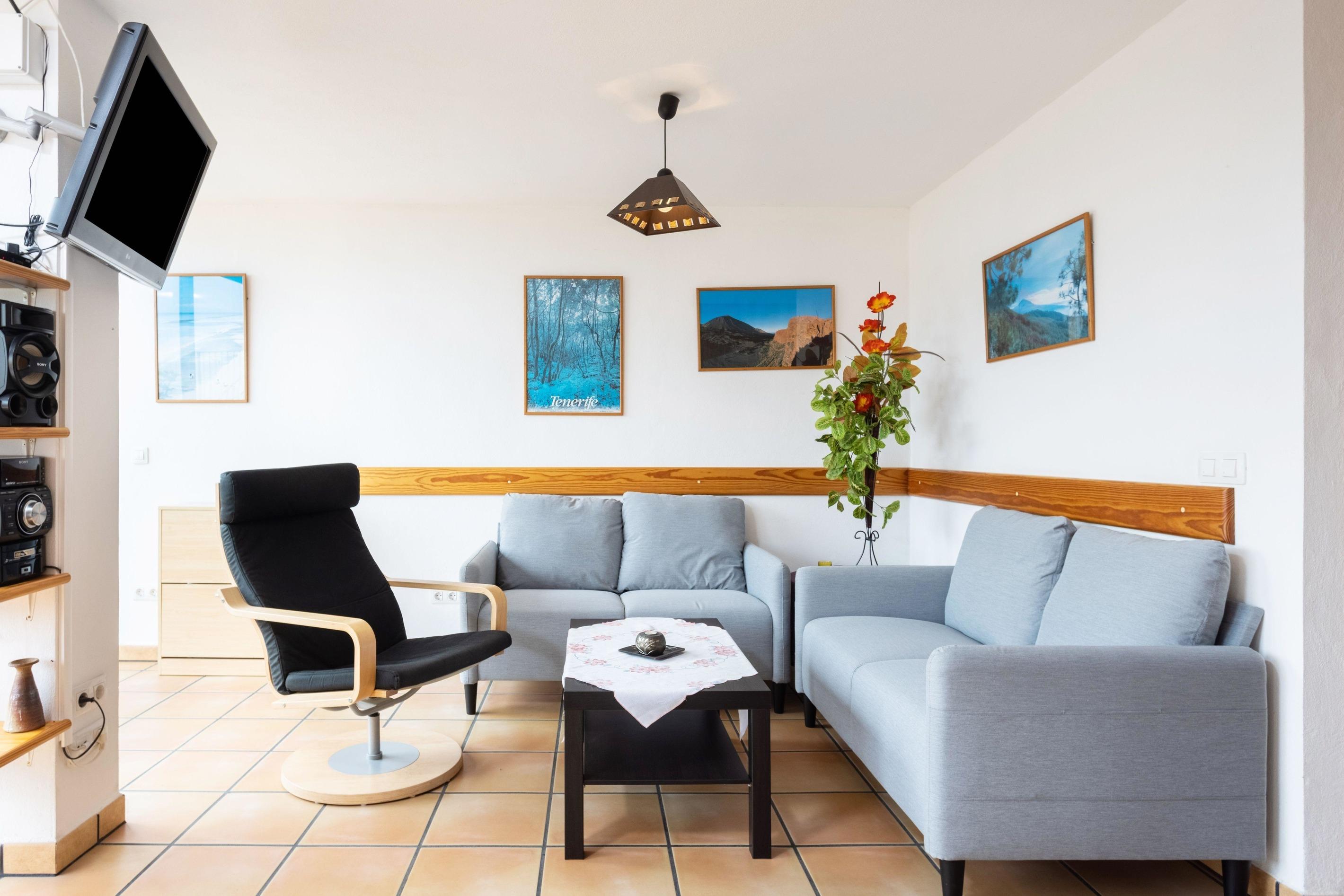Appartement de vacances Fewo Rocamar, auf dem Felsen über dem Meer mit toller Sicht, 2 Terrassen, Pool, Grill und  (2492985), Santa Ursula, Ténérife, Iles Canaries, Espagne, image 2