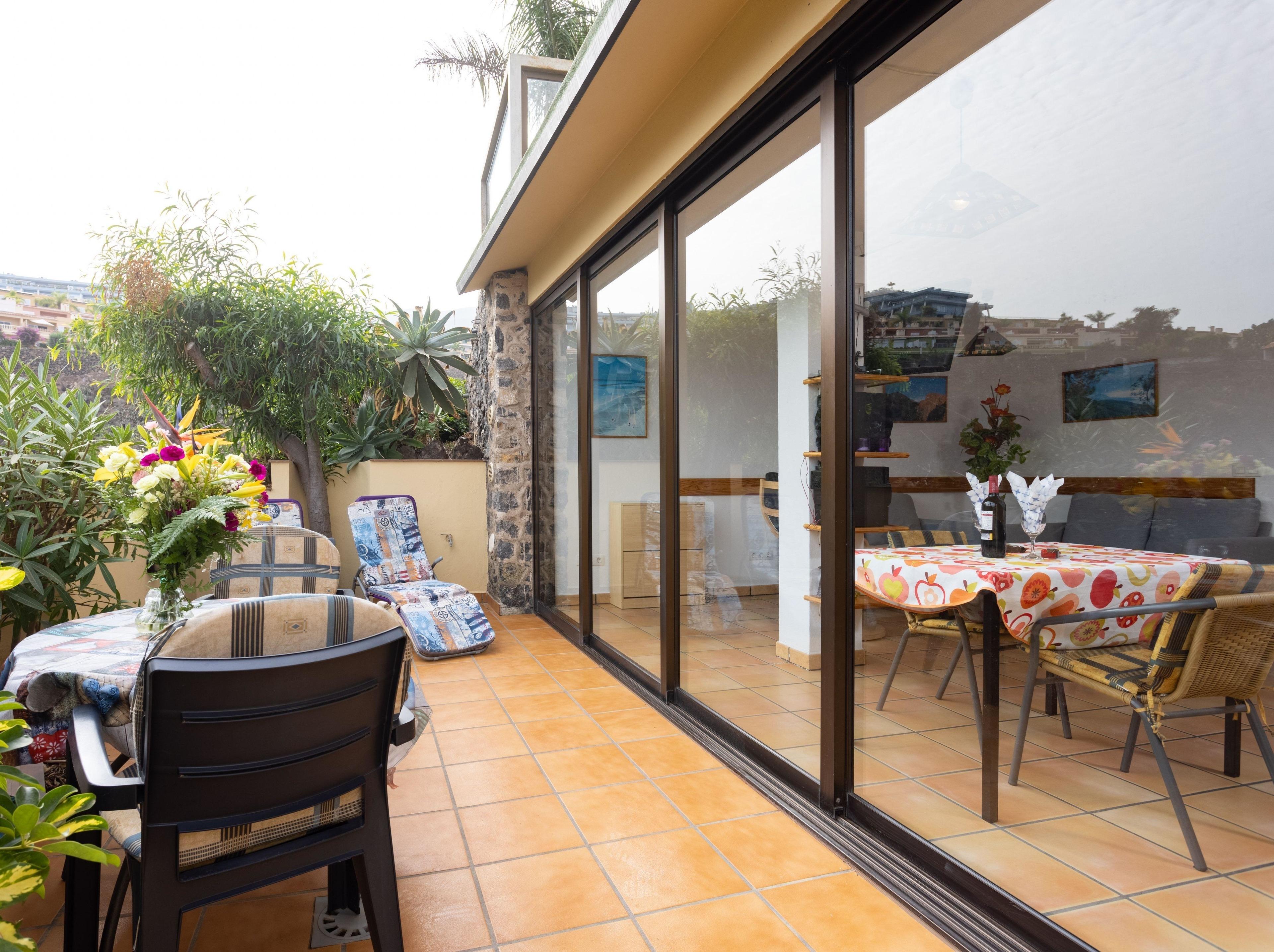 Appartement de vacances Fewo Rocamar, auf dem Felsen über dem Meer mit toller Sicht, 2 Terrassen, Pool, Grill und  (2492985), Santa Ursula, Ténérife, Iles Canaries, Espagne, image 15