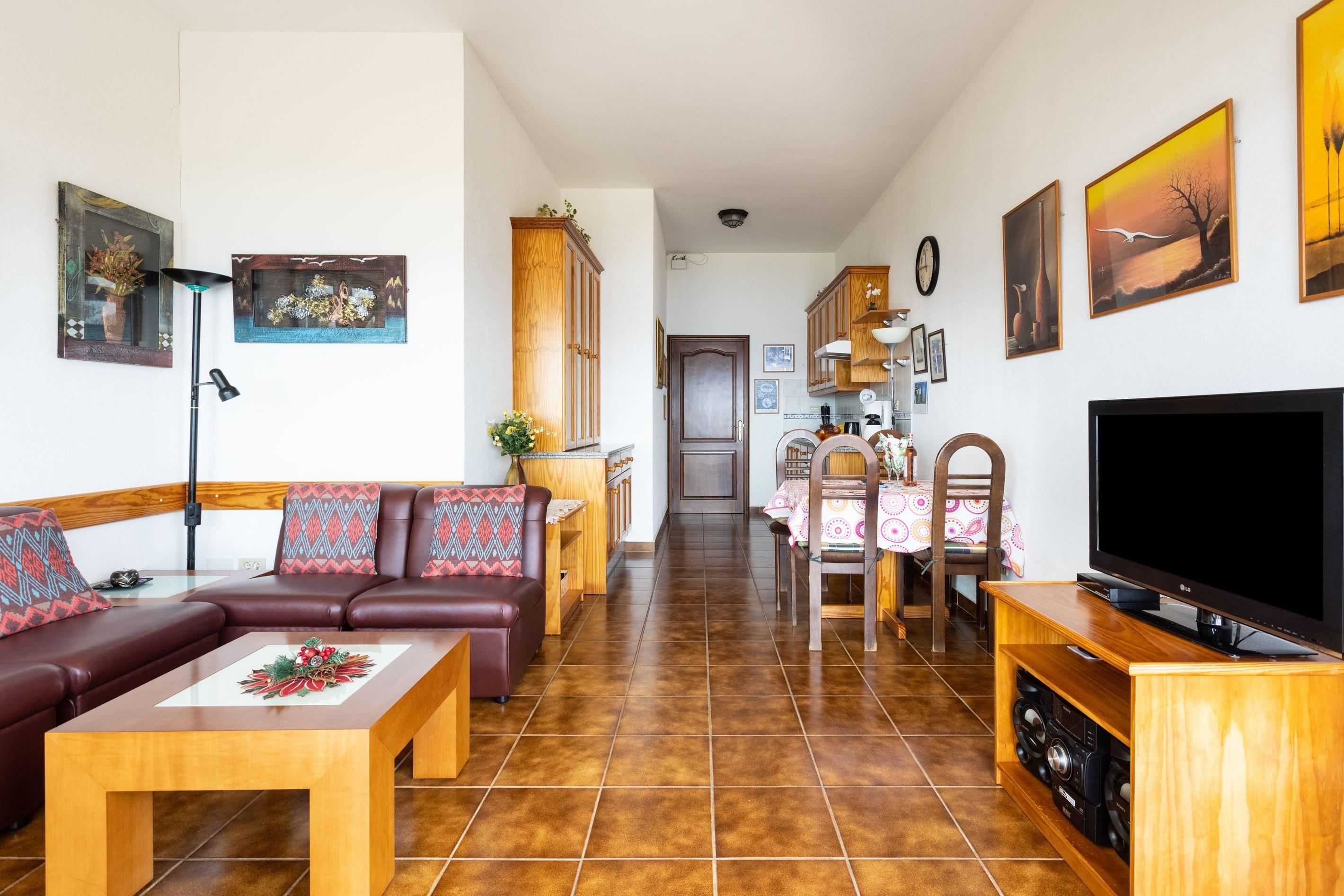 Appartement de vacances Fewo Solymar, mit 2 Schlafzimmern, 2 Bädern, eigener Terrasse und Garten, Meerblick, Pool, (2492986), Santa Ursula, Ténérife, Iles Canaries, Espagne, image 3