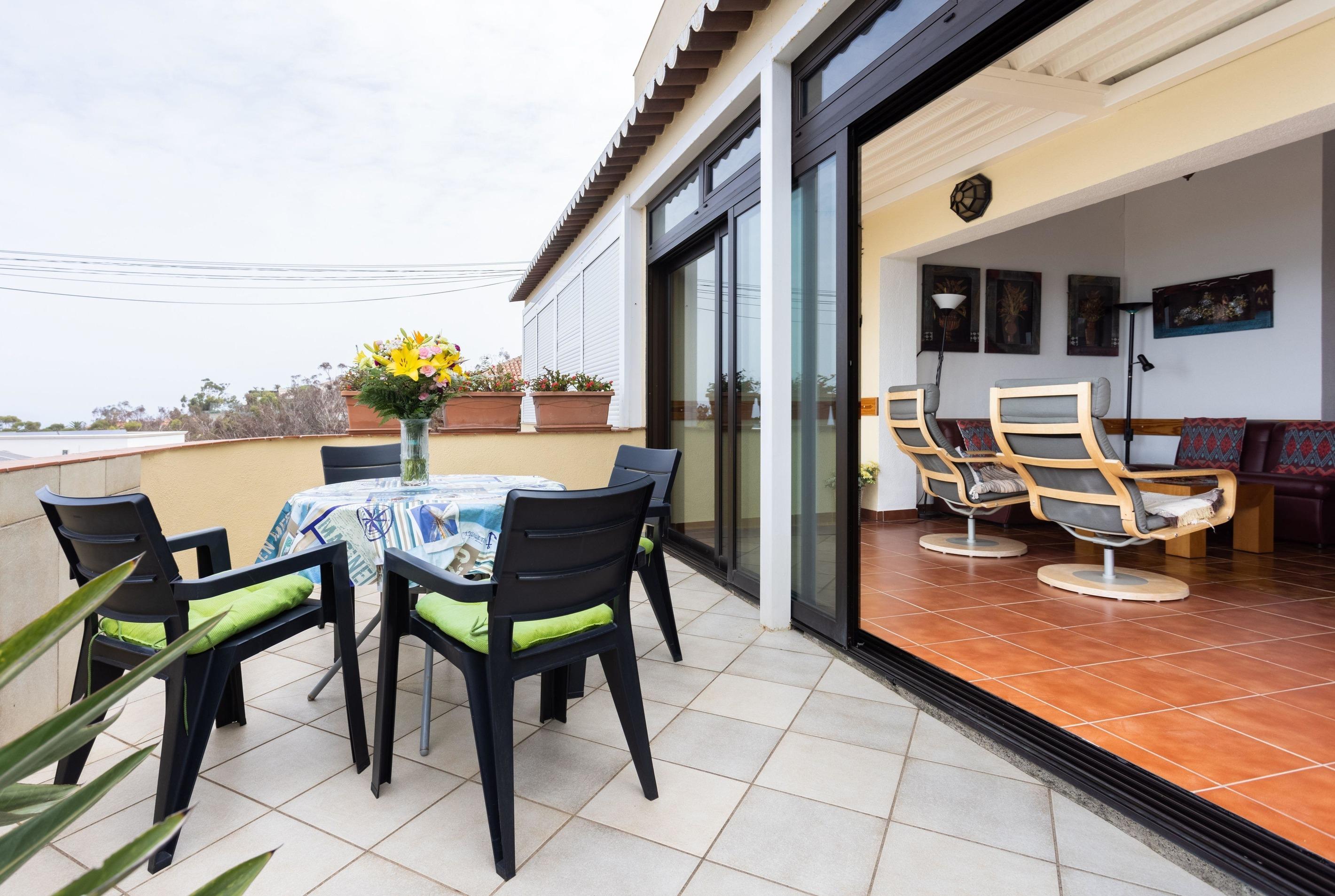 Appartement de vacances Fewo Solymar, mit 2 Schlafzimmern, 2 Bädern, eigener Terrasse und Garten, Meerblick, Pool, (2492986), Santa Ursula, Ténérife, Iles Canaries, Espagne, image 7
