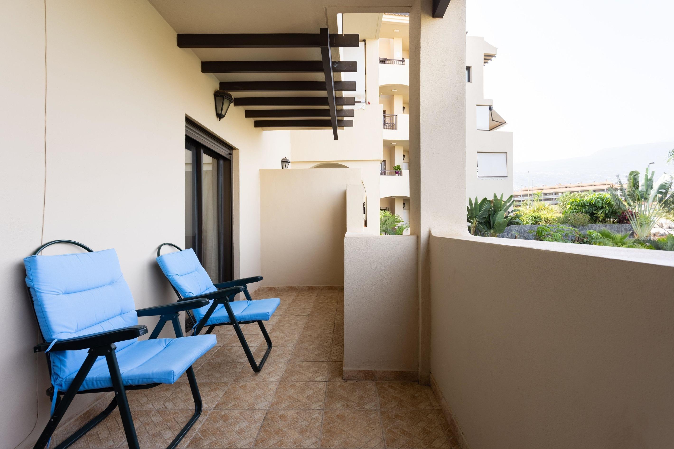 Appartement de vacances Fewo Mar y Teide Romantico, grosszügig, mit 2 Terrassen, Pool, Parkplatz,  Sicht auf Meer  (2492990), Puerto de la Cruz, Ténérife, Iles Canaries, Espagne, image 9