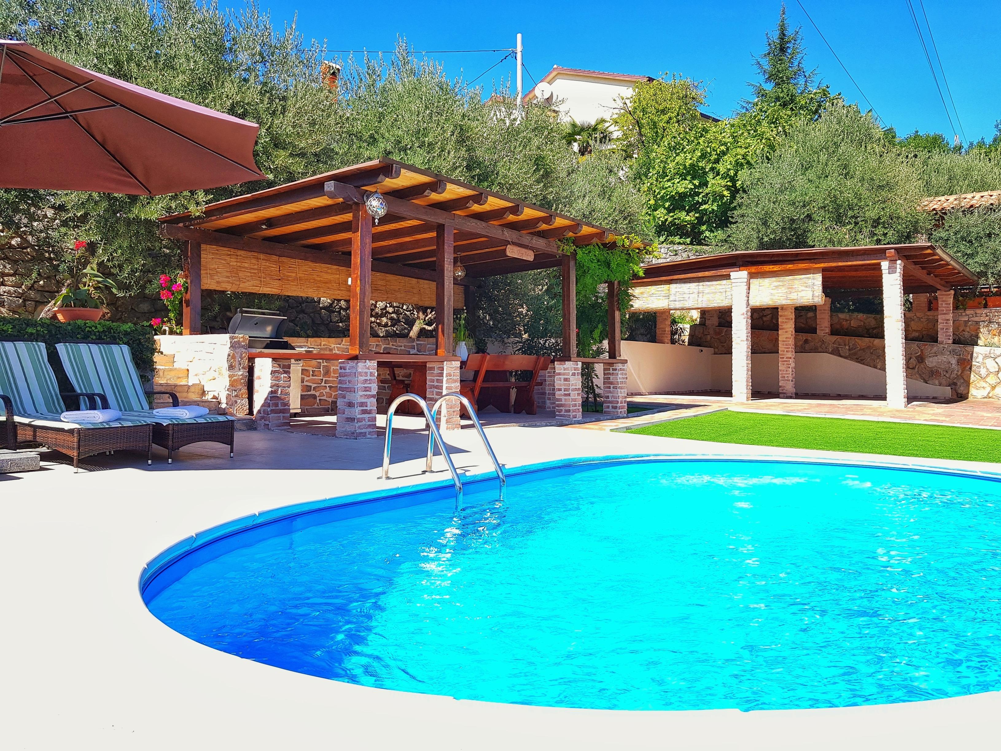 Ferienhaus Villa Oliva Rustica (2493705), Poljane, , Kvarner, Kroatien, Bild 22