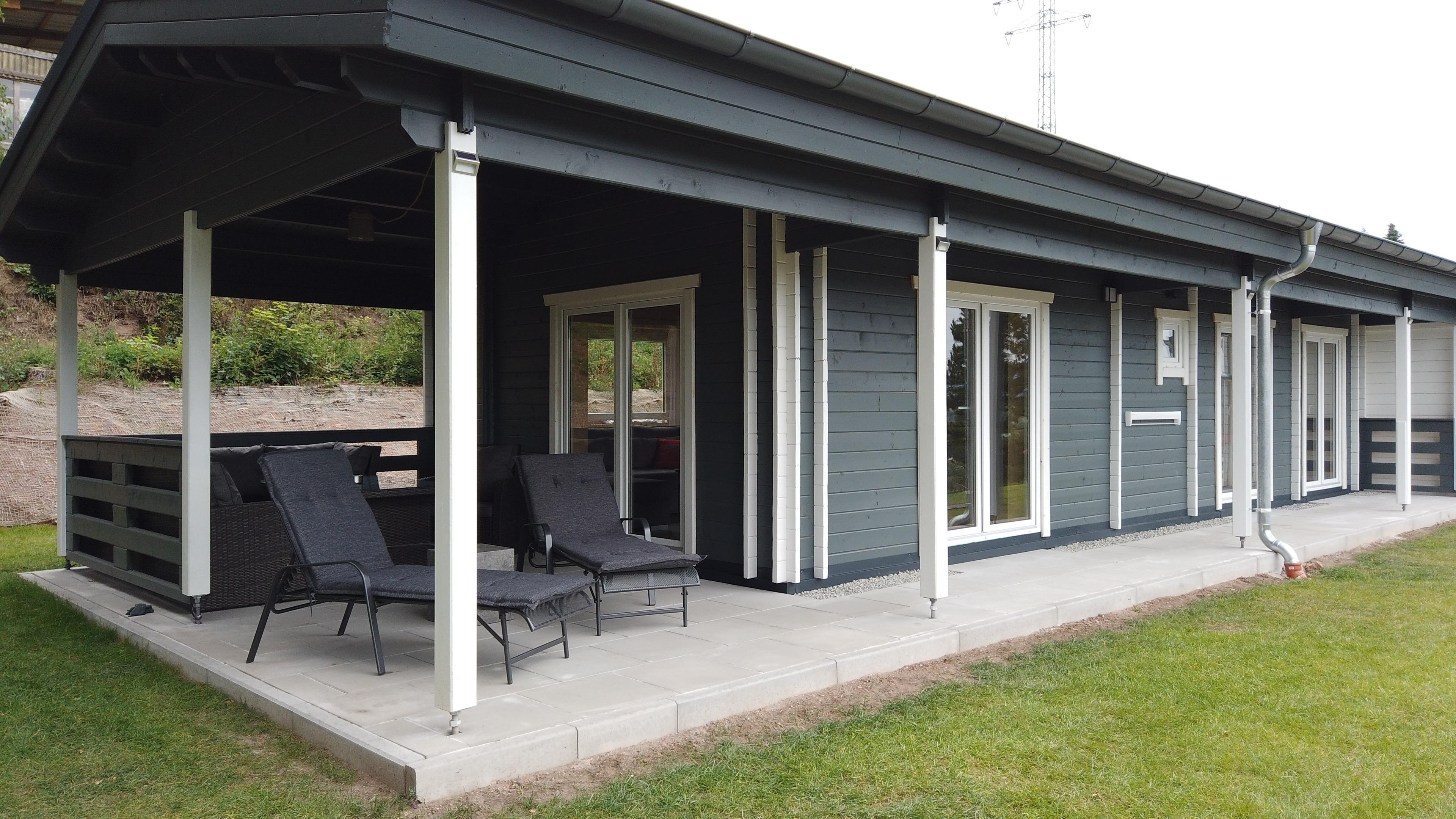 WellnessFerienhaus mit Pool, Sauna, Whirlpool mitt Ferienhaus in Thüringen