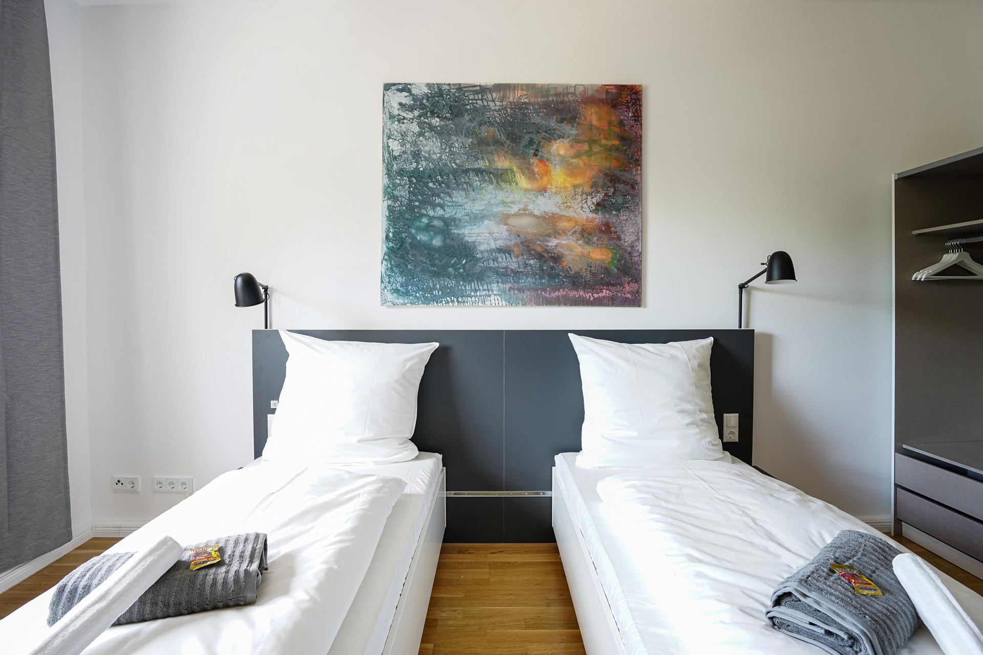 Glück Auf Appartement Holsterhausen Premium A Ferienwohnung in Nordrhein Westfalen