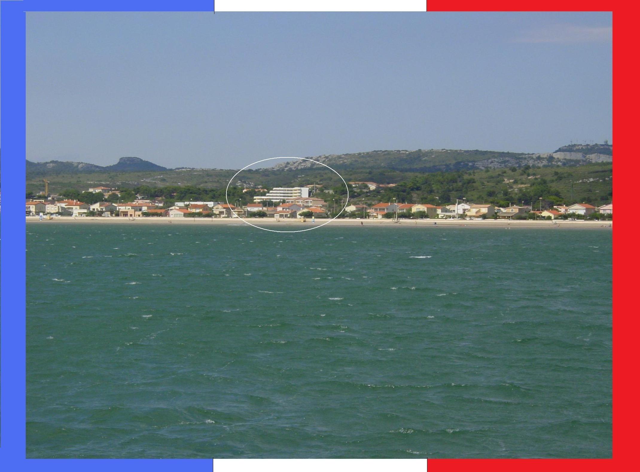 WiFi App. Panoramablick auf das Mittelmeer Ferienwohnung in Frankreich