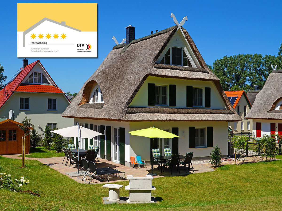 Reethaus Leda Ferienhaus auf Rügen