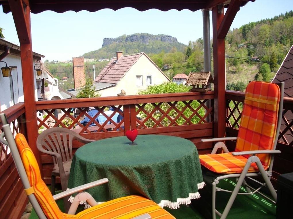 Haus 2 mit 1 getr. Schlafzimmer Ferienhaus in Königstein
