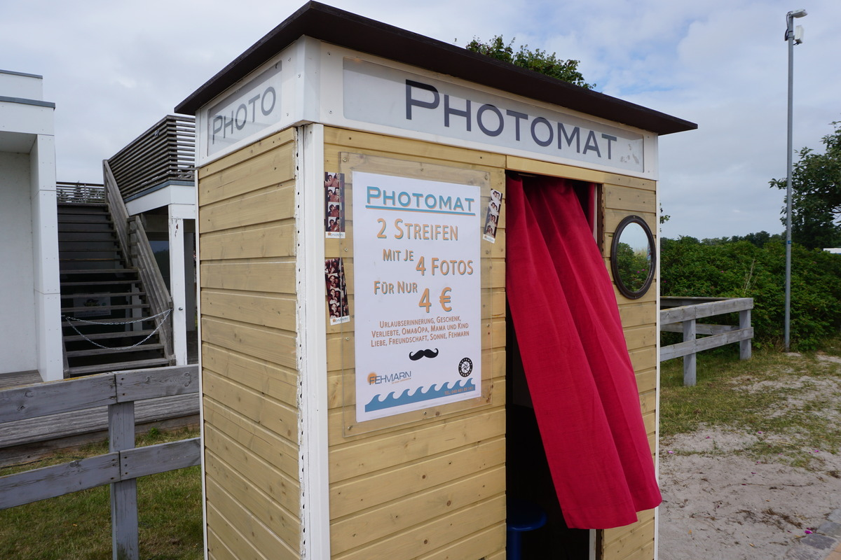 Fotobox am Südstrand