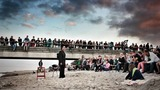 Theater des Wortes am Strand