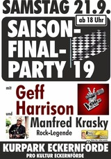Saison-Final-Party im Kurpark
