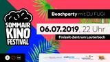 SommAir Kino Festival - Beachparty